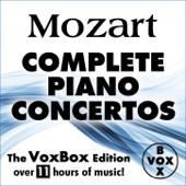 Mozart: Complete Piano Concertos (The VoxBox Edition)