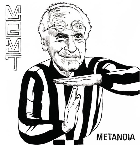 Metanoia - EP MGMT CD cover
