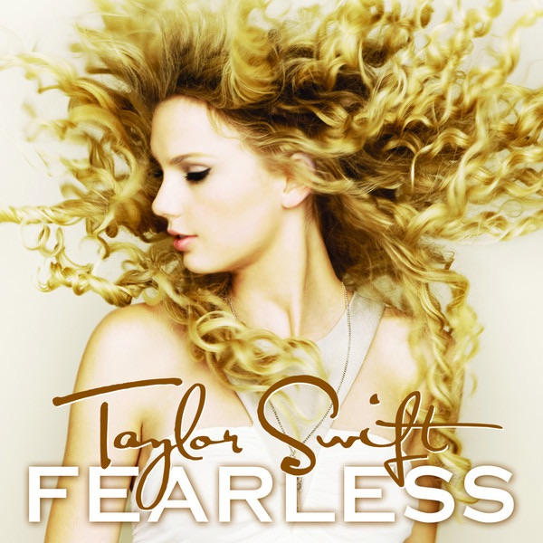 Fearless Taylor Swift CD cover