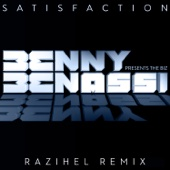 Satisfaction (Razihel Remix) - Single cover art