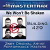 We Won't Be Shaken (Performance Tracks) - EP