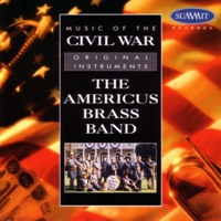Picture of Music of the Civil War by The Americus Brass Band