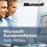Microsoft-Kundenreferenz als Podcast