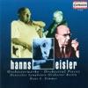 Eisler: Orchestral Pieces, Hans Zimmer & Deutsches Symphony Orchestra, Berlin
