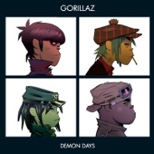 Gorillaz - Demon Days  artwork