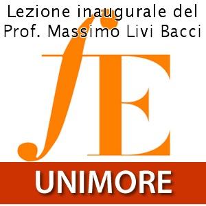Facoltà di Economia Marco Biagi. Lezione inaugurale del Prof. Massimo Livi Bacci [Video]