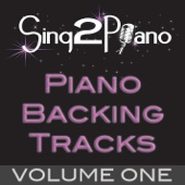 Sing2Piano - Piano Backing Tracks, Vol. 1 artwork