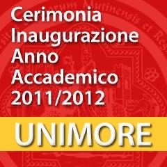 Cerimonia di Inaugurazione Anno Accademico 2011-2012 [Video]