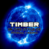 Timber (In the Style of Pitbull & Kesha) [Lounge Version]