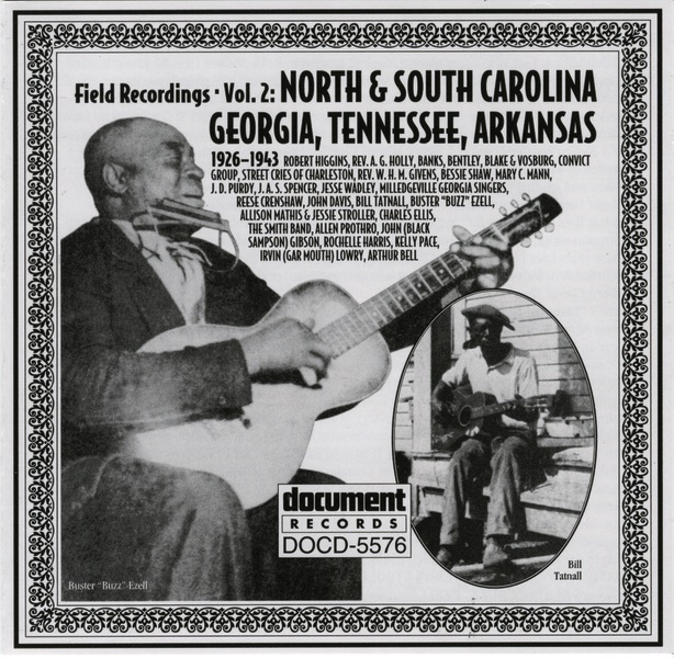 North & South Carolina, Georgia, Tennessee, Arkansas (1926-1943) by Various Artists
