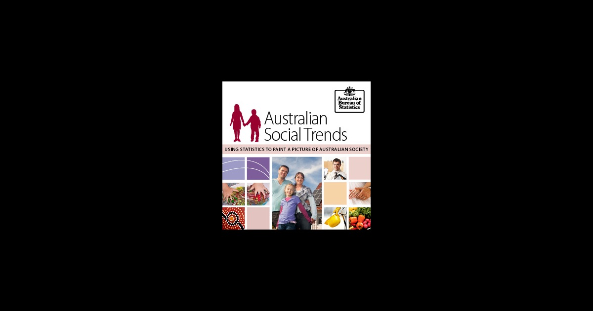 australian social trends Find government information and support services relating to some social issues.
