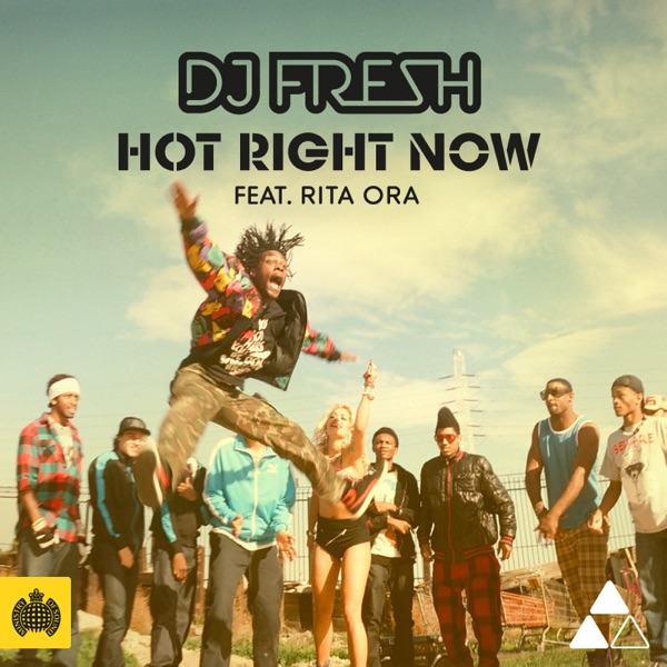 Cover art for Hot Right Now