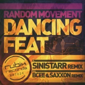 Random Movement - Dancing Feat Remixes - Single cover art