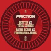 Friction Vs., Vol. 1: Scatter / Battle Scars - Single cover art