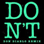 Don't (Don Diablo Remix) - Single
