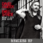 What I did for Love (feat. Emeli Sandé) [Remixes EP] cover art