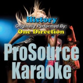 History (Originally Performed By One Direction) [Instrumental]