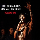 Cover to Hari Kondabolu's Hari Kondabolu's New Material Night, Vol. 1