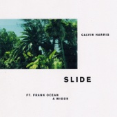 Calvin Harris - Slide (feat. Frank Ocean & Migos) artwork
