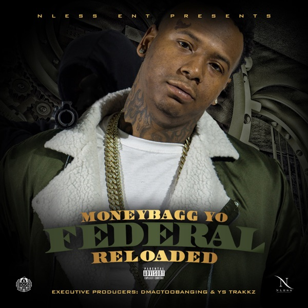 Federal Reloaded Moneybagg Yo CD cover