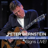 Peter Bernstein - Signs Live! (feat. Brad Mehldau, Christian McBride & Gregory Hutchinson)  artwork