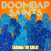TAKUMA the great - Get on the groove artwork