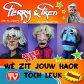 Ferry van de Zaande & Fred Van Boesschoten - Wè Zit Jouw Haor Tòch Leuk kunstwerk