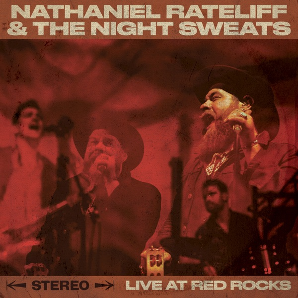 Live at Red Rocks Nathaniel Rateliff  The Night Sweats CD cover
