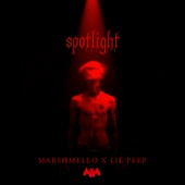Marshmello & Lil Peep - Spotlight  artwork