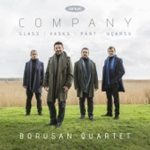 Borusan Quartet - Company: Glass, Part, Ucarsu, Vasks artwork