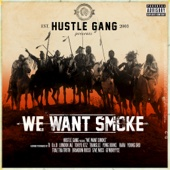 Hustle Gang - We Want Smoke (feat. T.I., B.o.B, London Jae, Tokyo Jetz, Translee, Yung Booke, Rara, Young Dro, Trae tha Truth, Brandon Rossi, 5ive Mics & GFMBRYYCE)  artwork