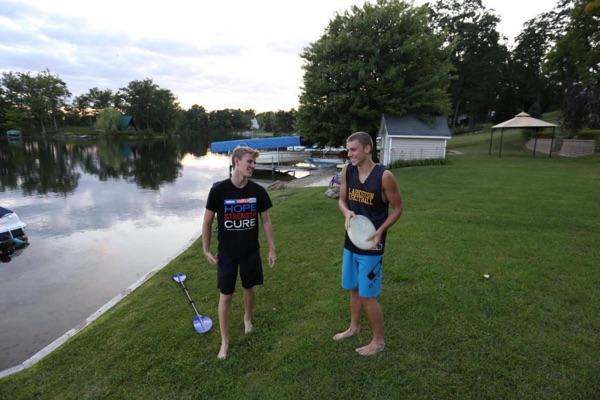 Josh & Andrew just...