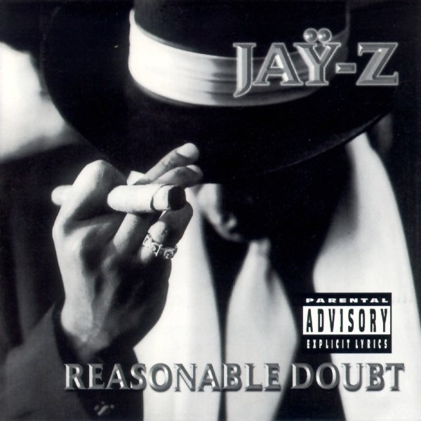Reasonable Doubt JAY Z CD cover