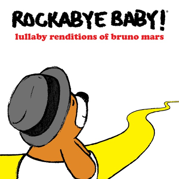 Lullaby Renditions of Bruno Mars Rockabye Baby CD cover