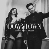 Anitta & J Balvin - Downtown artwork