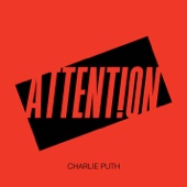 Charlie Puth - Attention обложка