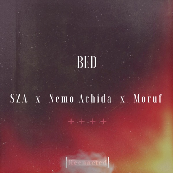 Bed Reenacted feat Sza Nemo Achida  Moruf - Single APSPDR CD cover
