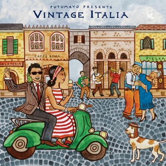 Putumayo Presents Vintage Italia – Various Artists
