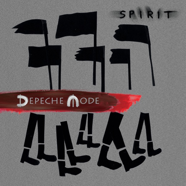 Spirit Depeche Mode CD cover