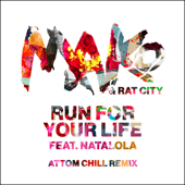 Run for Your Life (feat. Natalola) [Attom Chill Remix] - Mako & Rat City