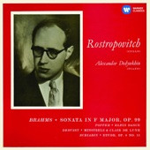 Brahms: Cello Sonata No. 2 & Works by Popper, Debussy & Scriabin