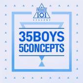 Produce 101 - 35 Boys 5 Concepts - EP