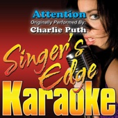 Attention (Originally Performed By Charlie Puth) [Instrumental]