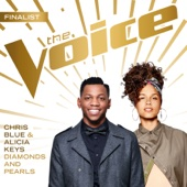 Diamonds and Pearls (The Voice Performance) - Chris Blue & Alicia Keys Cover Art