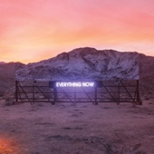Arcade Fire - Everything Now Grafik