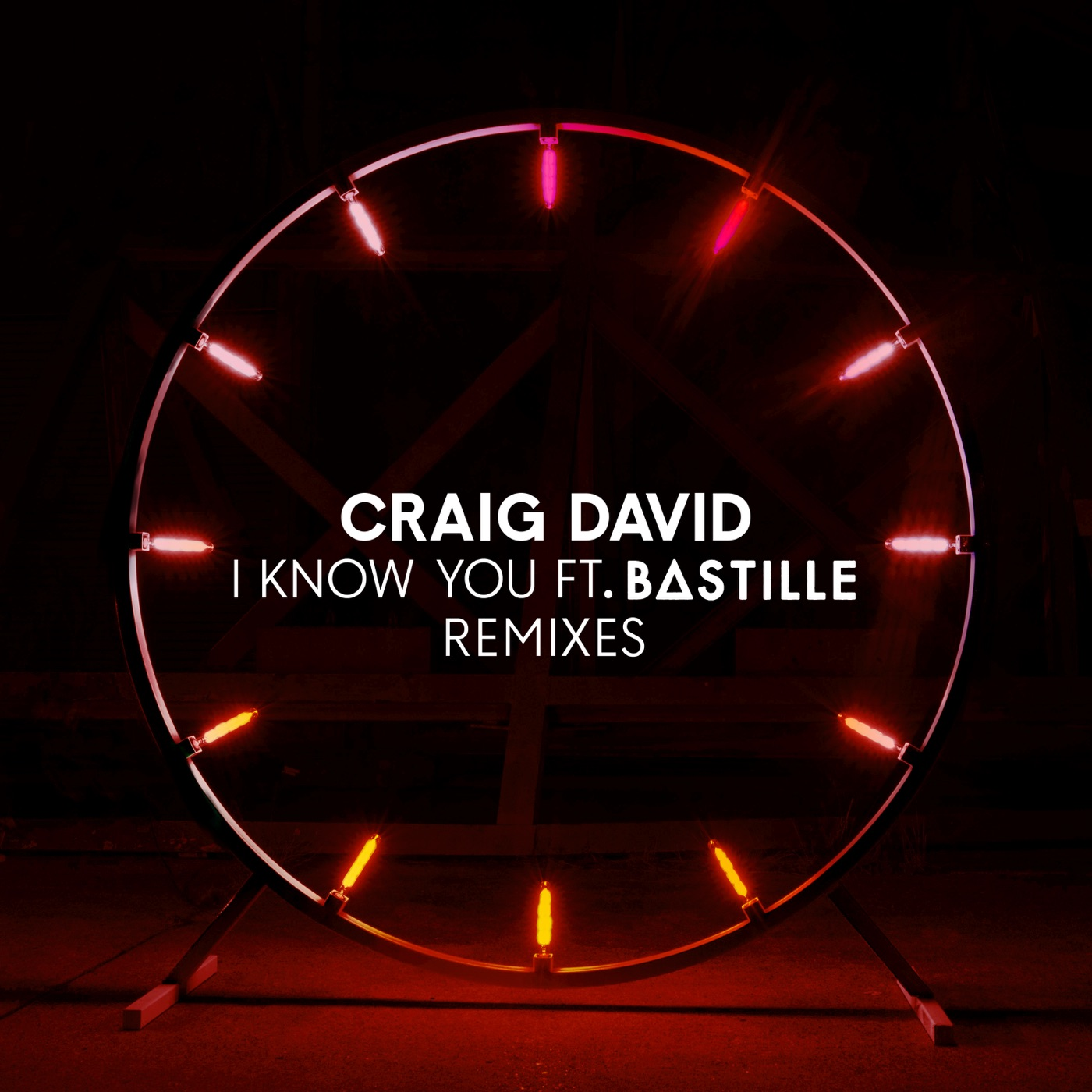 Craig David - I Know You (feat. Bastille) [Remixes] - EP Cover