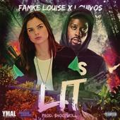 Famke Louise - Lit (feat. LouiVos) kunstwerk