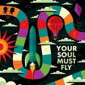 Derek Minor - Your Soul Must Fly  artwork