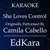 She Loves Control (Originally Performed by Camila Cabello) [Karaoke No Guide Melody Version]