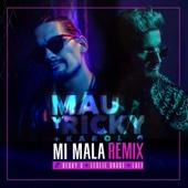 Mau y Ricky & Karol G - Mi Mala (feat. Becky G, Leslie Grace & Lali) [Remix] ilustración